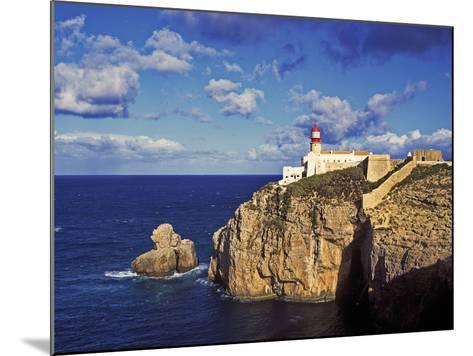 Farol De Cabo De Sao Vicente, Algarve, Portugal-Hans Peter Merten-Mounted Photographic Print