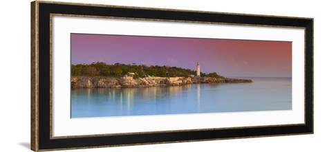 Lighthouse on Negril's Most Western Point, Jamaica-Doug Pearson-Framed Art Print