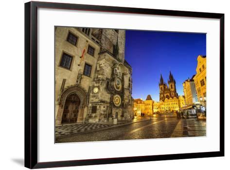 Old Town Share in the Morning-photo by Miroslav Petrasko-Framed Art Print