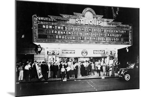 ST LOUIS Cinemaplex, CIRCA 1930-Archive Holdings Inc.-Mounted Photographic Print