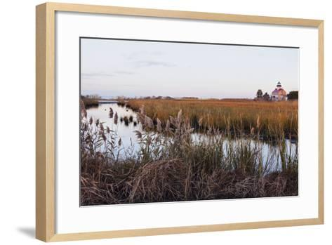 Usa, New Jersey, Heislerville, Maurice River Lighthouse-Henryk Sadura-Framed Art Print