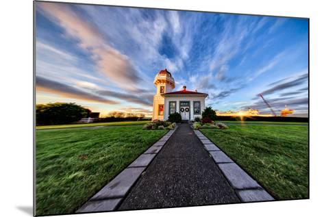 Mukilteo Lighthouse and Ferry, Washington-Michael Riffle-Mounted Photographic Print