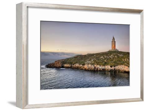 Tower of Hercules-Carlos Fernandez-Framed Art Print