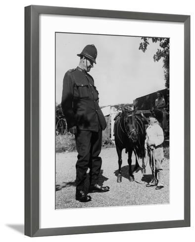 Looking up to the Law-William Vanderson-Framed Art Print