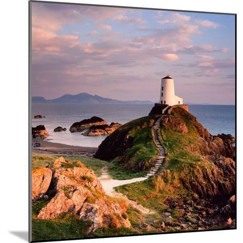 Llanddwyn Lighthouse-Osian Rees-Mounted Photographic Print