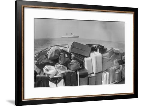 Lots of Luggage-Keystone-Framed Art Print