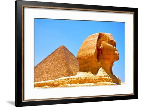 Great Sphinx of Giza-Taylor Buckman-Framed Art Print