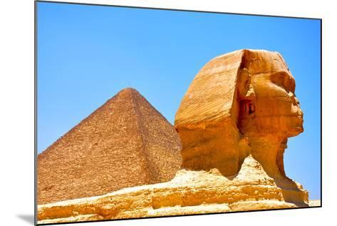 Great Sphinx of Giza-Taylor Buckman-Mounted Photographic Print