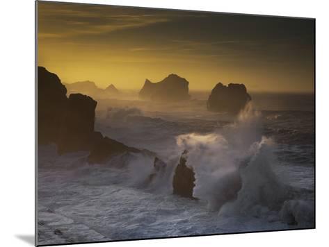 Sunset in Arnia-Martin Zalba-Mounted Photographic Print