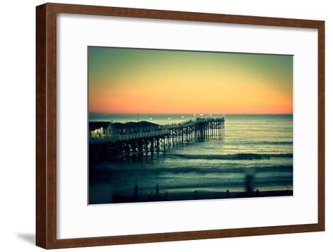 San Diego Sunset-Reny Preussker-Framed Art Print