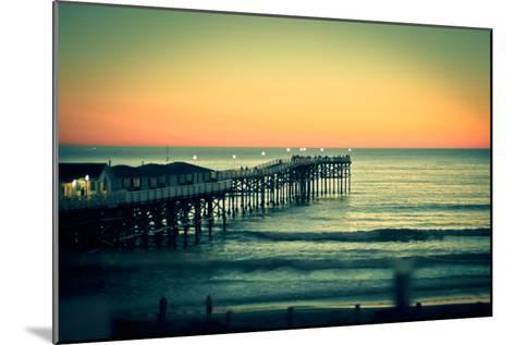 San Diego Sunset-Reny Preussker-Mounted Photographic Print