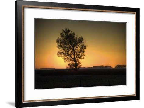 North Dakota Sunset-Angelo Bufalino Photography-Framed Art Print