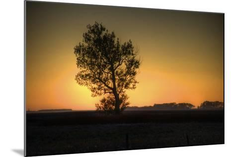 North Dakota Sunset-Angelo Bufalino Photography-Mounted Photographic Print