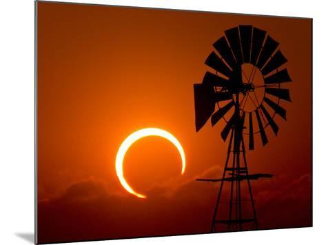 2012 Annular Solar Eclipse-Willoughby Owen-Mounted Photographic Print