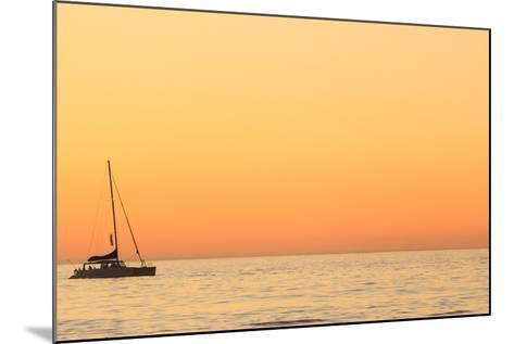 Sunset Cruise at Cape Town-Tony Hawthorne-Mounted Photographic Print