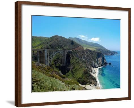 Bixby Creek Bridge-Felipe Borges-Framed Art Print