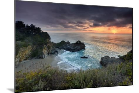 Winter Sunset Mcway Cove-Don Smith-Mounted Photographic Print