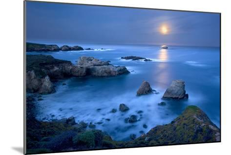 Dawn Moonset at Garrpata State Park-Don Smith-Mounted Photographic Print