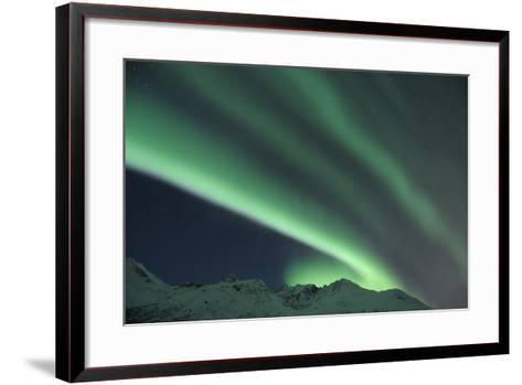 Nothern Lights, Aurora Borealis-Raimund Linke-Framed Art Print