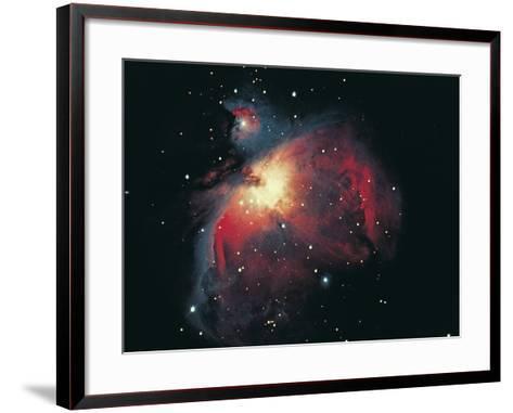 Great Orion Nebula-Digital Vision.-Framed Art Print