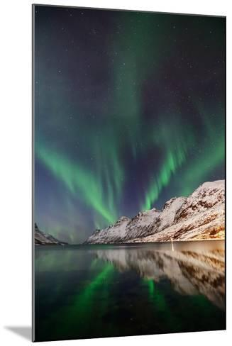 Aurora Ersfjordbotn-John Hemmingsen-Mounted Photographic Print