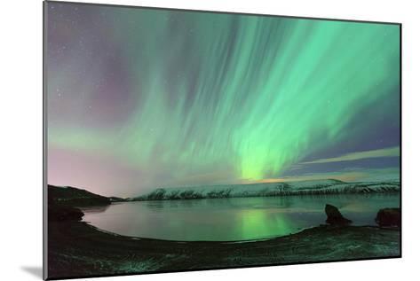 Northern Lights in Iceland-by Chakarin Wattanamongkol-Mounted Photographic Print