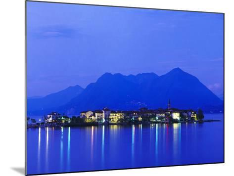Isola Pescatori at Dawn-Brian Lawrence-Mounted Photographic Print