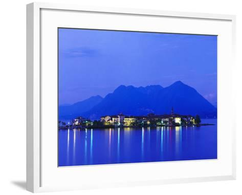 Isola Pescatori at Dawn-Brian Lawrence-Framed Art Print