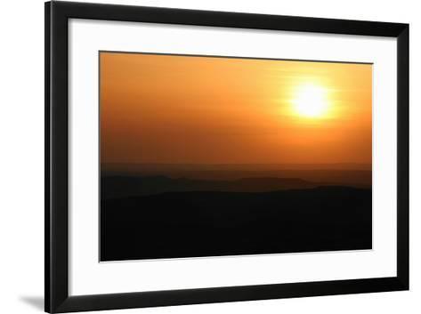 Sunset over Rural Landscape-Cultura Science/Jason Persoff Stormdoctor-Framed Art Print