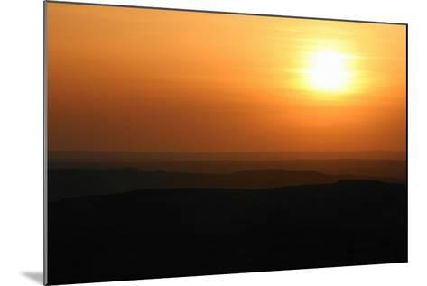 Sunset over Rural Landscape-Cultura Science/Jason Persoff Stormdoctor-Mounted Photographic Print