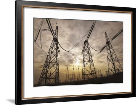 Power Lines--art-siberia--Framed Art Print