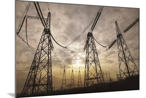 Power Lines--art-siberia--Mounted Photographic Print