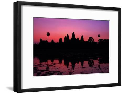 The Temples of Angkor-Denise Leong-Framed Art Print