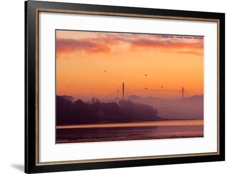 Sunrise-All images taken by Keven Law of London, England.-Framed Art Print