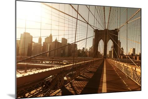 Brooklin Bridge-Diogo Salles-Mounted Photographic Print
