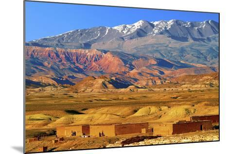 Village in the Atlas Mountain-Visions Of Our Land-Mounted Photographic Print