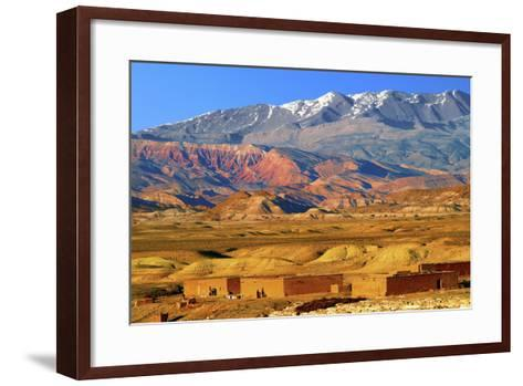 Village in the Atlas Mountain-Visions Of Our Land-Framed Art Print