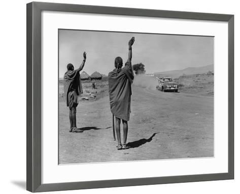 Masailand-Central Press-Framed Art Print