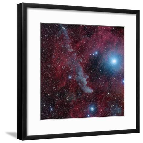 Witch Head Nebula (Ic2118)-Image by Marco Lorenzi, www.glitteringlights.com-Framed Art Print