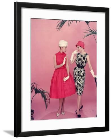 Cocktail Conversation-Archive Photos-Framed Art Print