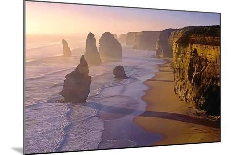 Sunset at the Twelve Apostles-TGR Photography-Mounted Photographic Print