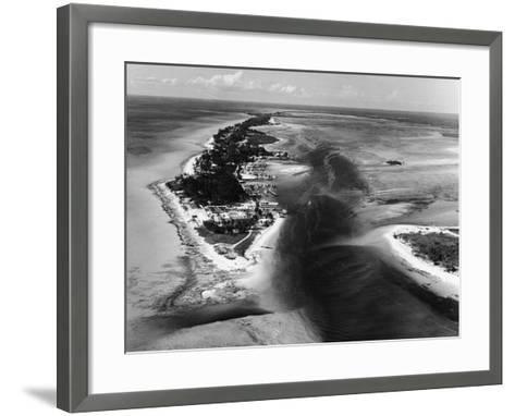 Bimini Aerial-Pictorial Parade-Framed Art Print