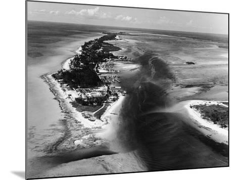 Bimini Aerial-Pictorial Parade-Mounted Photographic Print