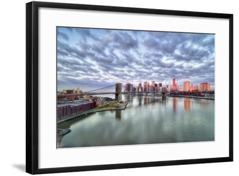 New York City-Photography by Steve Kelley aka mudpig-Framed Art Print