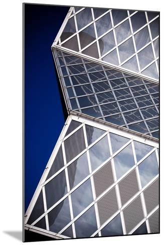 Seattle Public Library Abstract-Hal Bergman-Mounted Photographic Print