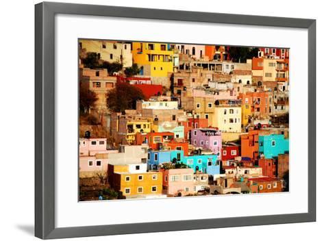 Colors on Hill-Nan Zhong-Framed Art Print
