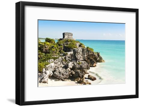 Ruins of Tulum-Alan Smithers-Framed Art Print
