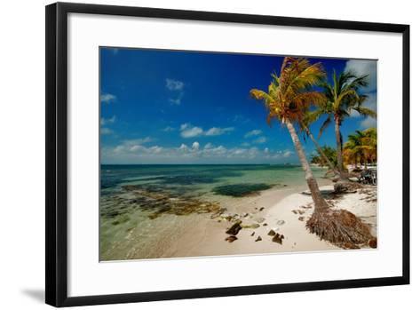 Isla Mujeres-photography is life .... so my life!-Framed Art Print