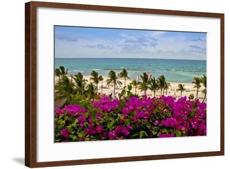 Ocean View, Playa Del Carmen, Quintana Roo-Steve Bly-Framed Art Print