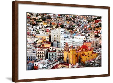 Color Collection-Nan Zhong-Framed Art Print